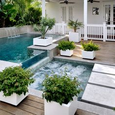 Key West Contemporary - tropical - pool - miami - Craig Reynolds Landscape Architecture