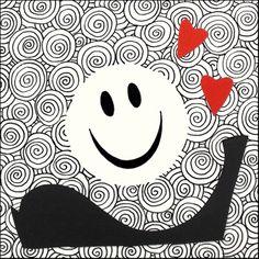 "andrea mattiello ""spring"" pennarello e collage su cartoncino cm 15x15; 2014 #andreamattiello #arte #art #artecontemporanea #conyemporaryart #artist #artista #artistaemergente #pennarello #collage #cardboard #cartoncino #tecnicamista  #cuore #heart #spring #passepartoutartgallery #passepartoutunconventionalgallery #milano"