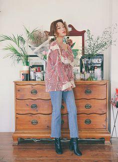 Byun Jungha, 3ce, Stylenanda, Sora, Vintage, Clothes, Fashion, Korean Makeup, Outfits