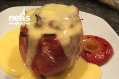 Fırında Elma (Bratapfel) Tarifi Baked Potato, Mashed Potatoes, Pudding, Pasta, Baking, Ethnic Recipes, Desserts, Food, Whipped Potatoes
