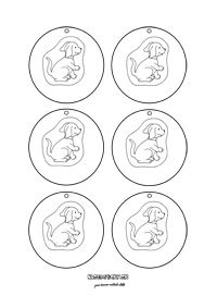 Medaile pre deti - psík