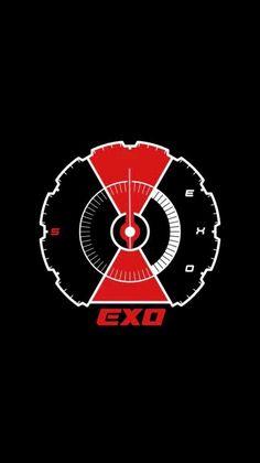 Baekhyun, Park Chanyeol, K Pop, Wallpapers Kpop, Exo Stickers, Kpop Logos, Tao Exo, Exo Lockscreen, Kim Minseok
