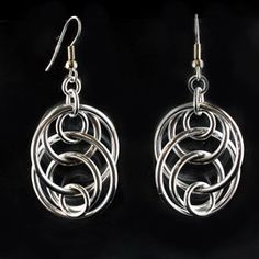 DIY Jewelry Tutorial Chainmaille Kit   Illusion Loop Earrings Project   Blue Buddha Boutique
