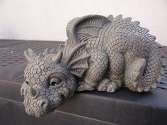 Statue dragon de jardin dragon 2014: Amazon.fr: Jardin