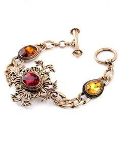 Brățară Scarlet vintage cu pietre mari Wholesale Jewelry, Scarlet, Phone Accessories, Charmed, Crystals, Bracelets, Fashion 2016, Red, Vintage