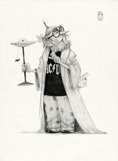 Sketchtober | 026 by BladMoran.deviantart.com on @DeviantArt