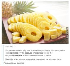 Truth about pineapple