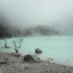 Kawah Putih (White Crater), Bandung, West Java, Indonesia
