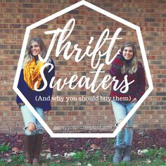 Cattails, Rabbit Trails, and Thistlefish: The Modest Budget: Thrift Sweater Edition