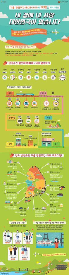 '가을 관광주간 시작' 여행 준비? 할인정보부터 챙길 것! [인포그래픽] #travel / #Infographic ⓒ 비주얼다이브 무단 복사·전재·재배포 금지