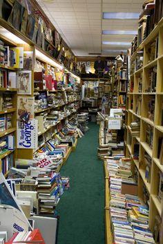 Unique Birmingham Bookstores // Exodus Magazine  @Rachel Freeny