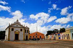 Igarassu, Pernambuco - Brasil -  Igreja de São Cosme e Damião, a mais antiga do país