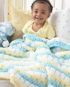 Ravelry: blanket # 5047 Pattern from Bernat Design Studio Source by dkphoto Bernat Baby Blanket, Baby Afghan Crochet, Blanket Yarn, Knitted Baby Blankets, Baby Afghans, Crochet Blanket Patterns, Baby Patterns, Free Crochet, Knit Crochet