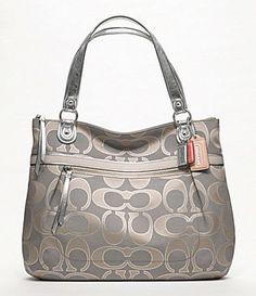 Coach purse...Just got my first Coach purse at a discount price. Love it....A definite must have.