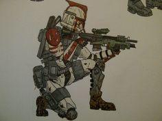 184th Clone Infantryman by halonut117.deviantart.com on @DeviantArt