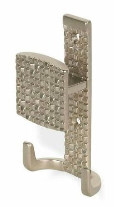 Mosaic Big Hook 121 mm. OL (Bright Chrome) by Siro Designs. $28.12. Pictured in Matte Nickel . 1-Year warranty . Outside length: 121 mm.