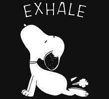 Yoga releases more than stress for Snoopy...
