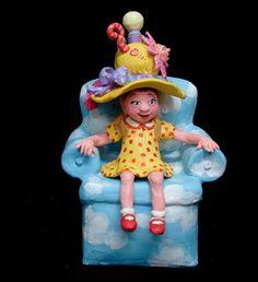 The Girl in the Great Idea Hat  Jane Hankins--great Arkansas artist
