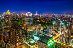 The Capital City of Thailand by Patchara Suensilpong on 500px