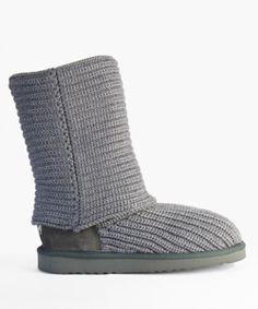 Merino Fleece Weave Boots by Whooga - Top View