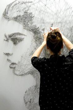 Incredible portraits and art installations by Debbie Smyth - ego-alterego.com
