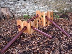 Make exciting waterways and ball runs. The adaptable holey boards and lightweight channels work together allowing children to explore flow, movement and gravity. Holey Boards Kit 3 boards Small, medium and large and 5 channels Outdoor Education, Outdoor Learning, Early Education, Outdoor School, Outdoor Classroom, Outdoor Playground, Playground Ideas, Water Playground, Preschool Playground