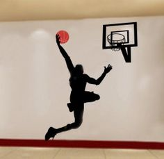"""Opentip.com: Aspire Basketball Giant Wall Decal, 63"""" by 79"""""""