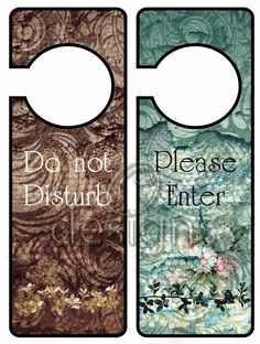Odesigns Studio: Free Monday Printable Door Hanger