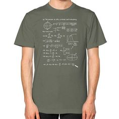 The answer! Unisex T-Shirt (on man)