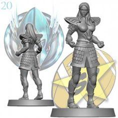 Alariel the Warrior, linewoman