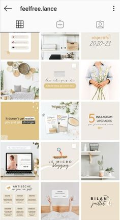 Instagram Feed Theme Layout, Instagram Feed Planner, Instagram Feed Ideas Posts, Instagram Banner, Instagram Layouts, Instagram Post Template, Flux Instagram, Instagram Grid, Instagram Design