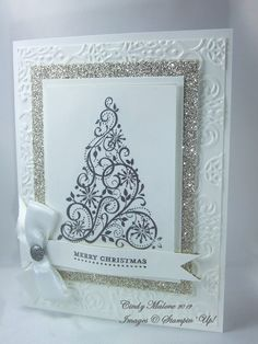 Discover Stamping: White Christmas