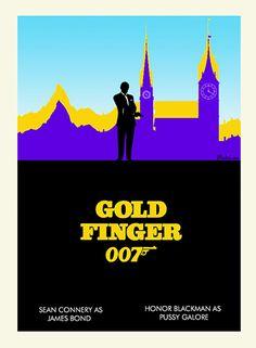 James Bond Fan Art M