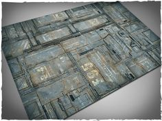 Image of Wargames terrain mat - 4'x6' space hulk theme
