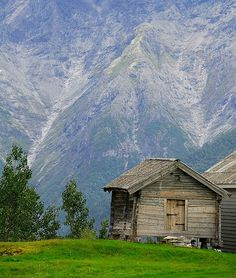 Wistfully Country, Mountain cabin by villinikon on Flickr.