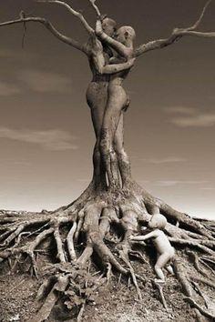 Human Tree!!! http://attikanea.blogspot.gr/2015/05/blog-post_222.html