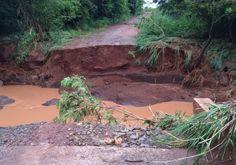 Chuva forte em Rondon: município solicita decreto de calamidade pública