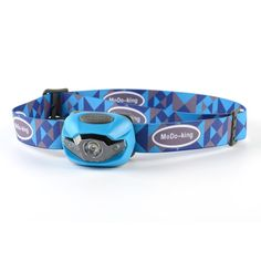 Modoking Hands Free Headlight with Red Lights for Reading, Camping, Running, Fishing and Climbing. Lightweight and Comfortable LED Headlamp, 3 AAA Batteries Included (blue) *** To view further for this item, visit the image link.