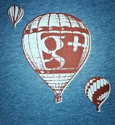 Dave Besbris from Google posted a picture of a new t-shirt he spotted at Google. The t-shirt has a Google+ logo embedded into a hot air balloon design. The question is, what does this symbolize and no one seems to know.
