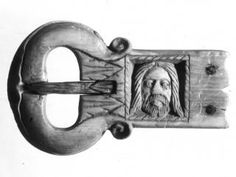 Cologne, Museum für Angewandte Kunst Inv. B 271 Bone;iron Height: 35 mm (maximum) Width: 65 cm Holy Face of Christ (Sancta Facies); foliated decoration. Museum's opinion 2013: Flanders (?), c. 1500.