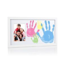 Cadre photo empreintes Famille - Baby Look