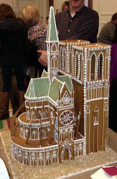 Christmas wouldn't be Christmas without gingerbread houses. Last year we showcased gingerbread houses from an exhibit at Ped. Gingerbread Castle, Gingerbread House Designs, Gingerbread Decorations, Christmas Gingerbread House, Gingerbread Cookies, Christmas Cookies, Christmas Baking, Christmas Holidays, Xmas