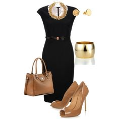 Black Nude by lisa-eurica on Polyvore featuring polyvore, fashion, style, John Lewis, Kurt Geiger, A.V. Max, J.Crew, Ted Baker, Gorjana and clothing