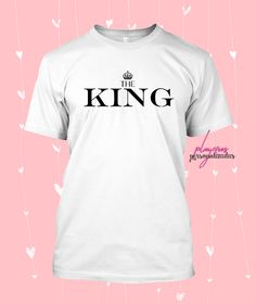 5a3d5228a68a6 👕Playera The King and The Queen 👑 🎁Envíos a todo Mexico 🎁 Tallas  disponible  XS