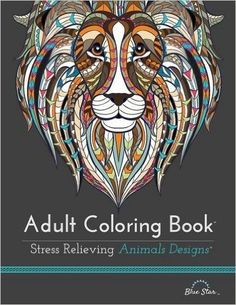 Adult Coloring Book: Stress Relieving Animal Designs: Adult Coloring Book Artists: 9781941325117: Amazon.com: Books