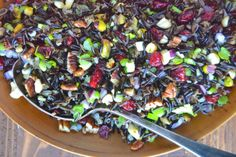 Black Rice for Coloring Foods