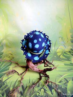 Toadstool witch hat. #psychedeliccostume #renaissancehat #witchhat #halloweencostumehat #fairycostume #druidcostume #witchcostume #feltedhat Halloween Costume Hats, Costumes, Renaissance Hat, Mushroom Hat, Elf Cosplay, Magic Hat, Felt Fairy, Elf Hat, Ceramic Beads