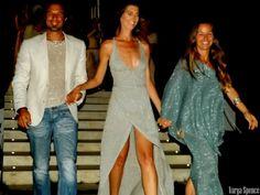 De collectie finale tijdens een modeshow op Ibiza