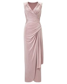 Phase Eight Anoushka Full Length Dress Pink