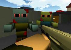 JuegosMinecraft.es - Juego: Zumbi Blocks - Jugar Juegos Gratis Online Flash